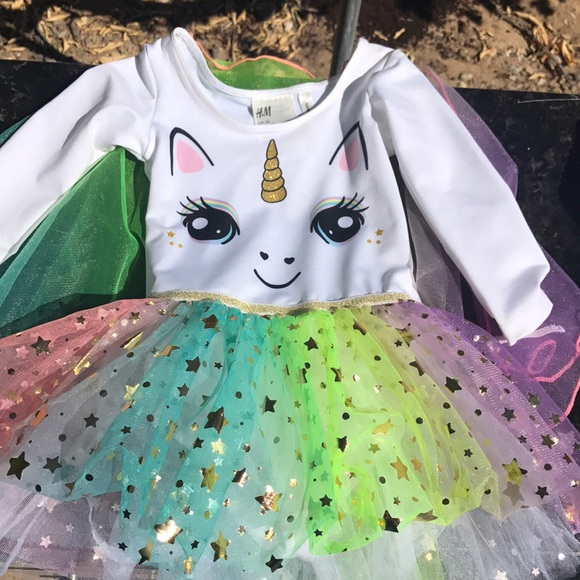 H&M Other - Toddler H&M Unicorn Dress